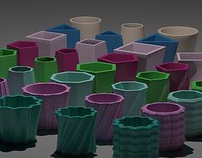 3d-printable 3d Printable Flower Pots