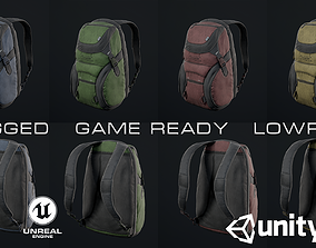 3D model Adventure backpack
