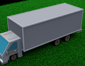 vehicle 3D asset game-ready TRUCK
