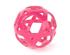 Abstract Sphere 3D printable model
