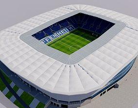 Rhein-Neckar-Arena - Hoffenheim Germany 3D asset