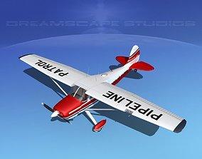 Cessna 170 Pipeline Patrol 3D model