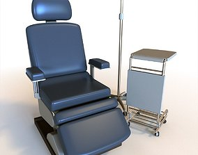 Medical Chair 3D model