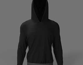 3D Streetwear Men Hoodie - OBJ - 4K Texture HDRI