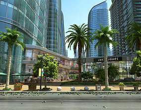 high Residential area 3D model