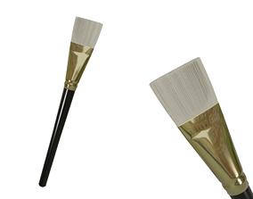 Flat Paintbrush 3D asset