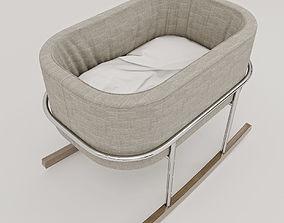 bassinet 3D model cradle Rockwell Bassinet Monte