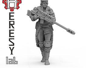 3D print model Victoria Vasilev Sniper
