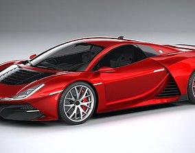 Generic Supercar 2020 3D