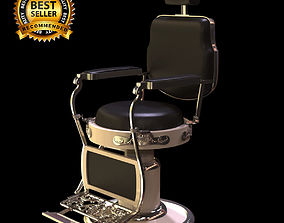 Barber chair 3D