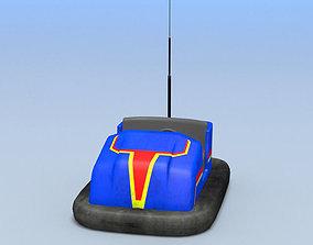 3D asset bumper cars