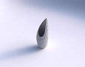 3D printable model Vase Tsunami with crystal dents
