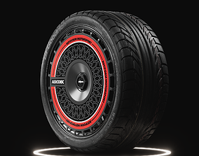 3D BF Goodrich g-Force Sport COMP-2 Tire Real World