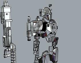 3D printable model FULL Mandalorian heavy infantry armor 3