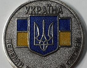 Medal Veteran of military service 3D print model