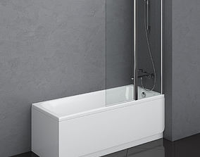 bath Ravak Chrome 3D