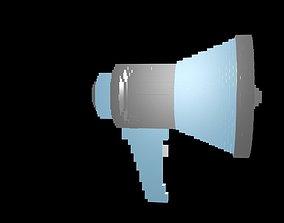 3D Horn loudspeaker voxel