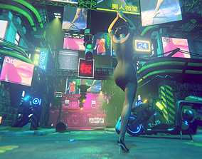 Cyber City Fp 3D model