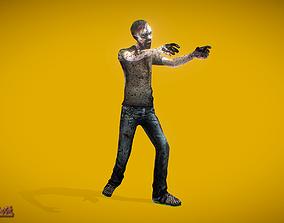 3D asset Zombies Walker 2