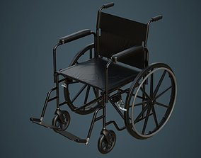 3D asset Wheelchair 1A