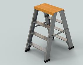 Ladder 3D model game-ready