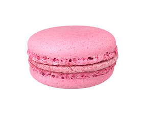 Photorealistic Macaron 3D Scan 5