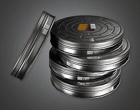 Film Briefcase HLW - PBR Game Ready 3D asset