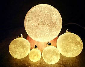 3D print model 4 Inches Progressive Moon Lamp