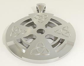 3D print model Pingente Cruz Celta
