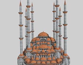 3D model Fantasy Ottoman Mosque