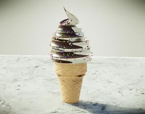 Ice Cream 3D dessert