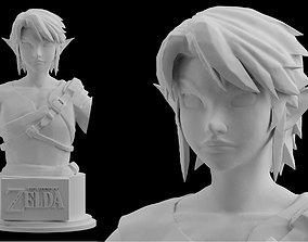 Zelda Farmer Link Twilight Princess Statue Figure 3D 2
