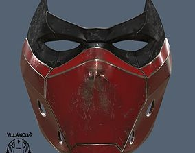3D print model Red Hood Mask version 2