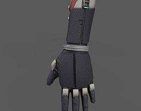 Scifi glove soldier 3D model