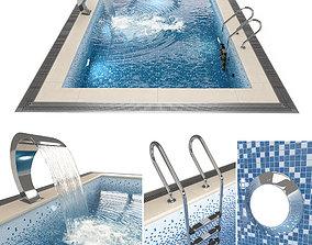 3D model foam Swimming pool
