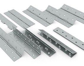 Simple narrow hinge 3D household
