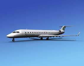 Bombardier CRJ700 Styrian 3D