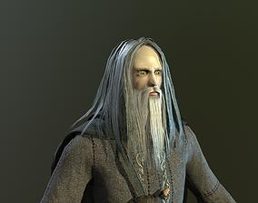 3D asset Warrior Of Magic