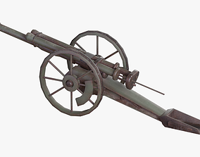 cutting Cannon 3D model