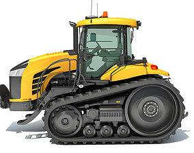 Challenger Track Tractor 3D model