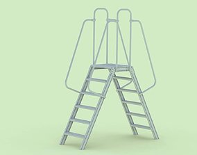 3D Double Sided Step Ladder