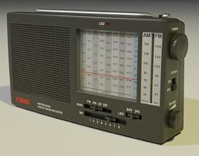 3D model Shortwave Radio Receiver