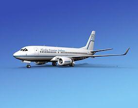 3D Boeing 737-700ER Alaska Frontier