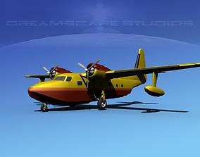 3D model Grumman G-73 Mallard V14
