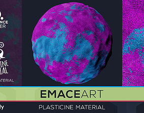 PBR Plasticine Material 5 Substance Unity Material 3D