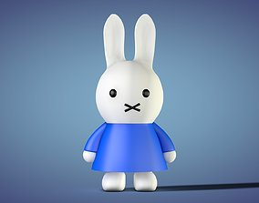 3D model Miffy - Bunny Rabbit