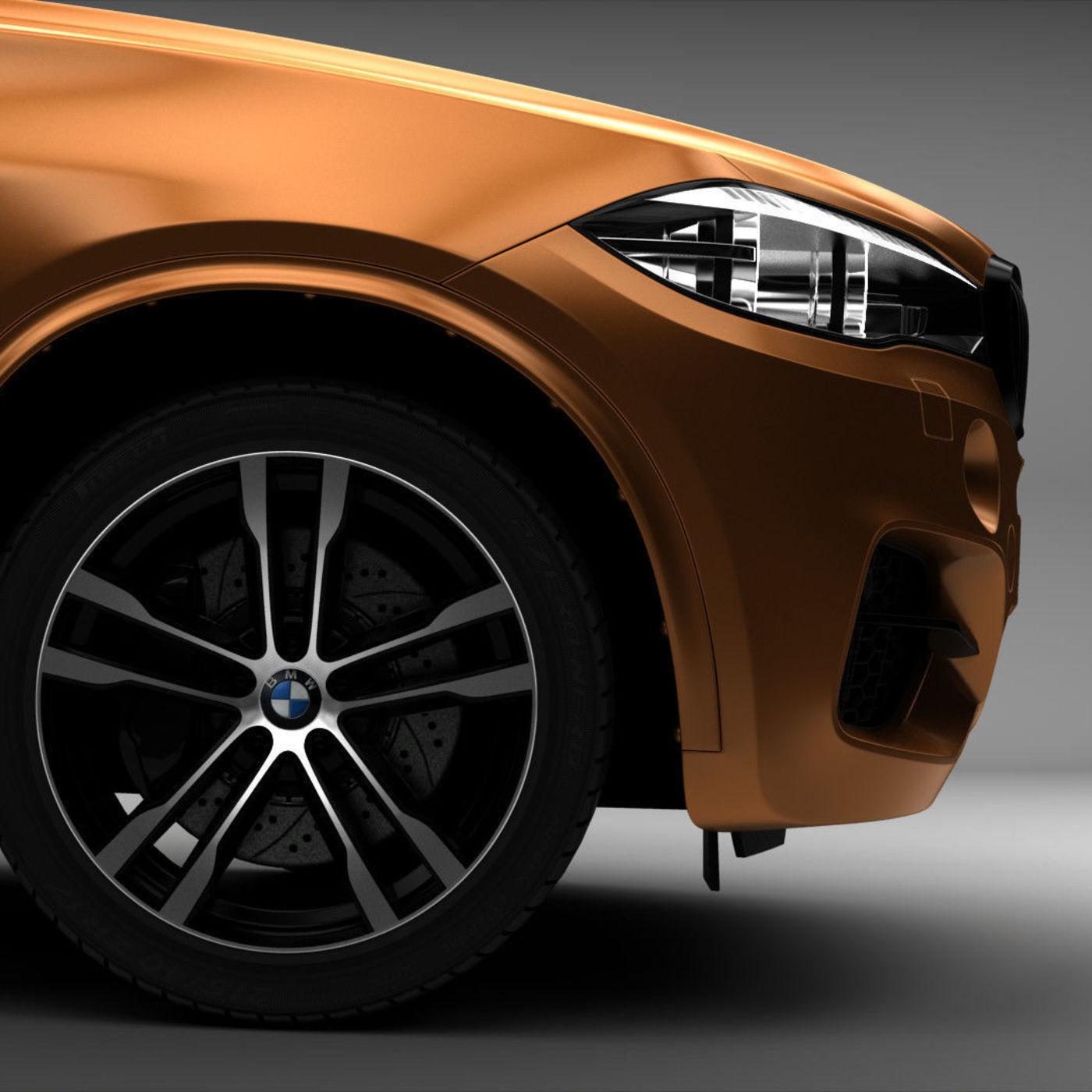 BMW X5M Gold