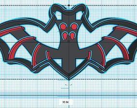 Vampire Dracula Cookie Cutter 3D print model