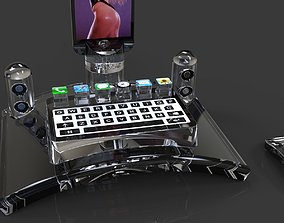 3D iPhone 5 dock station