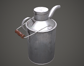 3D model Watering Can PBR Low Poly